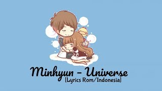 "Minhyun – Universe (별의 언어) ""Sub indo [Lyrics Rom/Indonesia]"