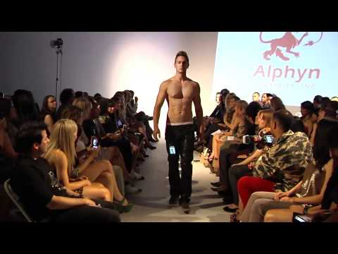 Alphyn Industries pant fall collection at SF Fashion Week 2011