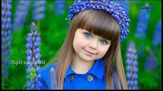 Top 10 Most Beautiful Kids In The World - Most Famous Prettiest Child In The World