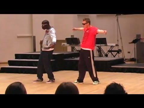 Amerykański robo-dance