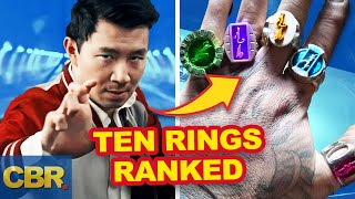 Marvel Shang-Chi Rings: 10 Magical Powers Ranked