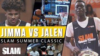 Jimma vs. Jalen Green! Epic Dunk Contest at SLAM Summer Classic 🔥