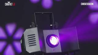 Take a look CHAUVET DJ OBSESSION Compact LED Effect Light in action - video 2