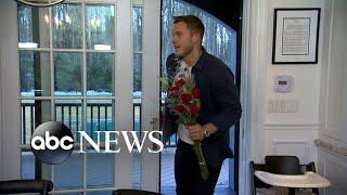 Colton Underwood surprises fans at a 'Bachelor' viewing party l GMA