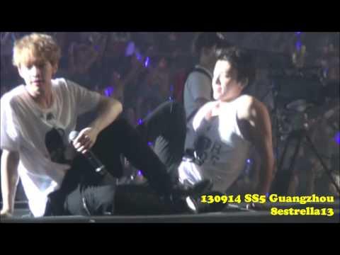 【Fancam】130914 SS5 Guangzhou 〜Sunny〜 Focus Donghae Henry Super junior