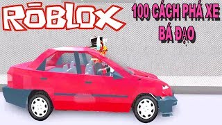 Roblox | Cách Phá Hủy 1 Chiếc Siêu Xe | Car Crushers 2 | MinhMaMa
