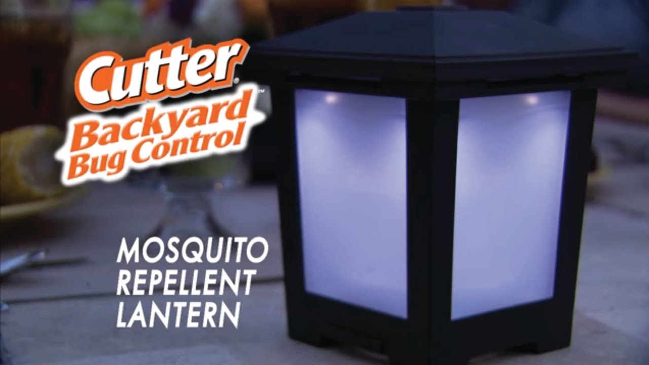 Cutter Backyard Bug Control Insect Repellent Lantern - YouTube