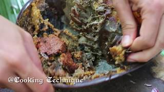 Cooking Technique: Cooking Big Horseshoe Crab Salad Secret Recipe - Village Cooking