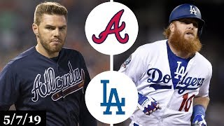 Atlanta Braves vs Los Angeles Dodgers Highlights | May 7, 2019