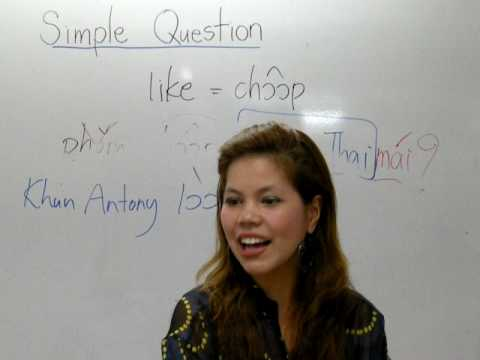 Learning Thai : Simple Question
