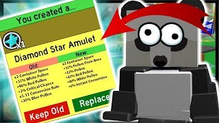 *DIAMOND* STAR AMULET, 30 UNIQUE GIFTED BEE TYPES!   Roblox Bee Swarm Simulator
