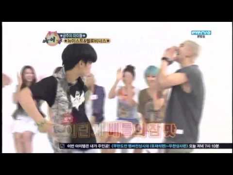[Weekly Idol] JR & Baekho's dance battle
