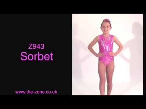 Sorbet All-Over Print Sleeveless Gymnastics Leotard