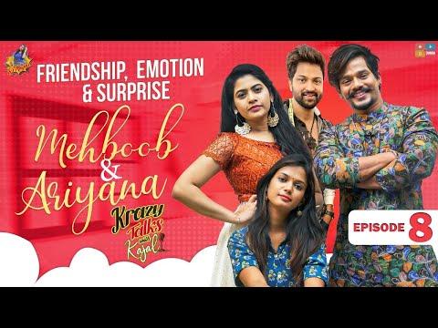 Bigg Boss Mehaboob, Ariyana and Sohel engage in funny talk with Kajal in Krazy Talks