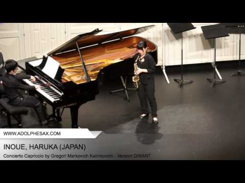 Dinant 2014 - Inoue, Haruka - Concerto Capriccio by Gregori Markovich Kalinkovich