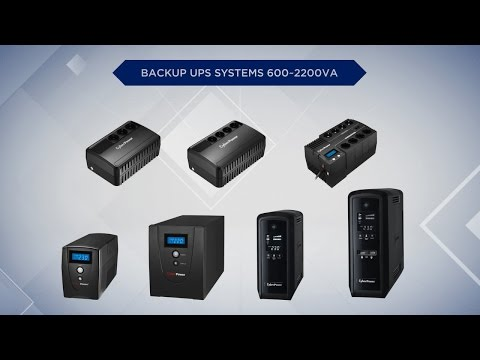 video Cyberpower BU Series UPS – BU600VA