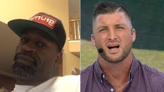 Stephen Jackson Tells Tim Tebow 'CUT THAT SH*T OUT' On NCAA Athletes Not Getting Paid