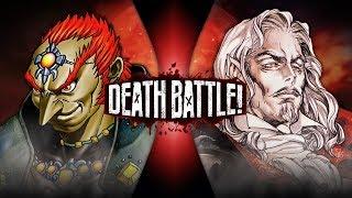 Ganondorf VS Dracula (Zelda VS Castlevania) | DEATH BATTLE!