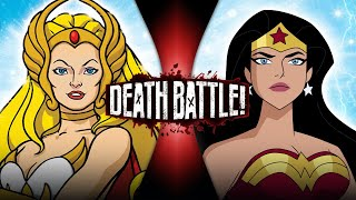 She-Ra VS Wonder Woman (He-Man VS DC) | DEATH BATTLE!