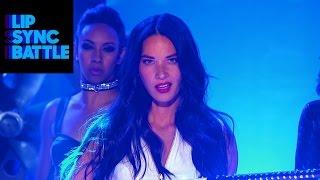 "Kevin Hart's ""Slam"" vs. Olivia Munn's ""Bad Blood"" | Lip Sync Battle"