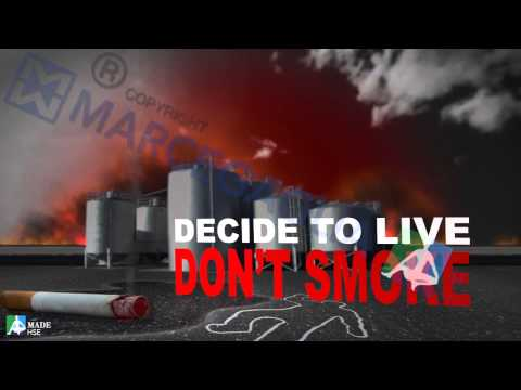 Give worth to safety: Don't smoke... decide to live!