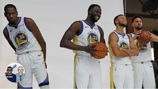 Kevin Durant was a Warriors outsider because he wasn't there from the jump - Jalen | Jalen & Jacoby