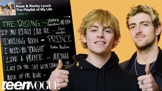 Ross and Rocky Lynch Create The Playlist of Their Lives | Teen Vogue