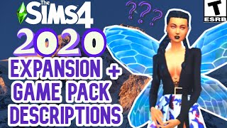THESE PACKS COULD BE COMING-FAIRIES, SCHOOL, MUSIC & HEISTS- SIMS 4 INFO/SPECULATION