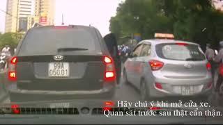 Top những tai nạn giao thông khó đỡ.