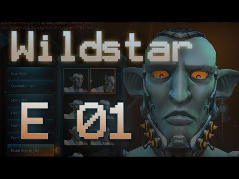 Wildstar - E01 - Character Creation & First Look thumbnail