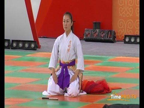 Японский танец с веером - Нихон-буё.