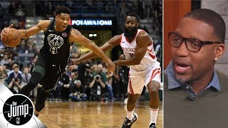 Giannis Antetokounmpo is 'the frontrunner' to win MVP - Tracy McGrady | The Jump