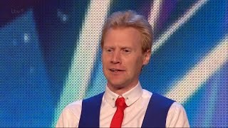 Peter Lambert - Britain's Got Talent 2015 Audition week 4