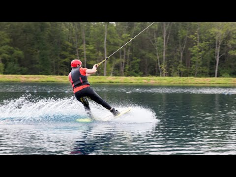 screenshot of youtube video titled Wakeboarding | Go For It