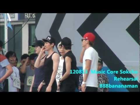 [fancam] 120813 Music Core in Sokcho Rehearsal Super Junior 『 SPY 』 Focus Sungmin