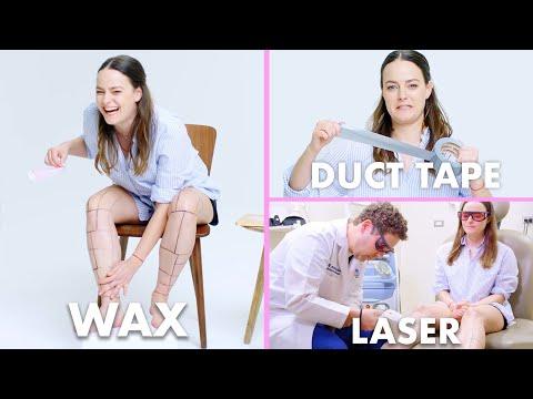 Every Method of Leg Hair Removal (21 Methods) | Allure