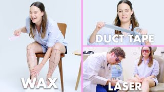 /every method of leg hair removal 21 methods allure