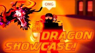 Dragon fruit showcase! - Blox Fruits