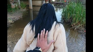 I TRIED TO PUSH DE'ARRA INTO THE WATER...   VLOGMAS DAY 13