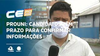 PROUNI: Candidatos têm prazo para confirmar informações