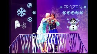??FROZEN?? - DISNEY ON ICE 2018??