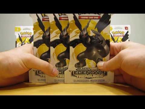 3 Legendary Treasures Pokemon Booster Pack Opening (Amazing Pulls!)