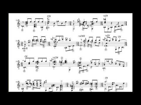 Como Llora Una Estrella Alirio Díaz Music Score