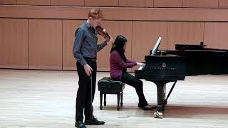 Barber Violin Concerto, mvt. 1, Matt Cone
