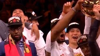 Jeremy Lin The NBA Champion! Lin played in the NBA Finals and won | Raptors vs Warriors - Game 6