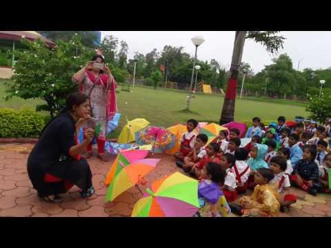 Shree Bhavan's Bharti Public School (SBBPS) Kids Rain Walk