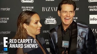 /jim carrey sounds off on icons and more at nyfw 2017 e red carpet award shows