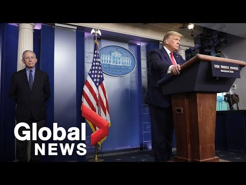 Coronavirus outbreak: Trump calls large number of COVID-19 cases  'tribute' to U.S. testing | FULL