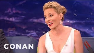 Elizabeth Banks On Dry-Humping At The MTV Movie Awards - CONAN on TBS