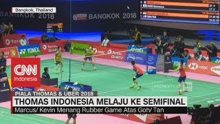 Jonathan Christie Taklukan Tunggal Malaysia, Tim Thomas Indonesia Maju ke Semifinal